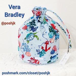 NWT Vera Bradley Ditty Bag Anchors Aweigh